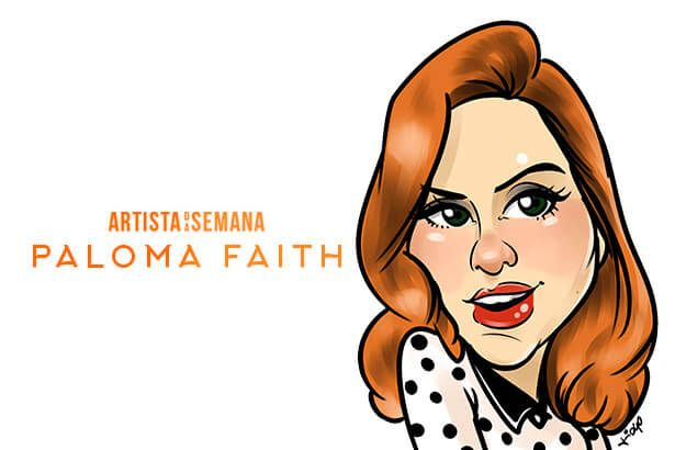 Paloma Faith é o Artista da Semana! Background