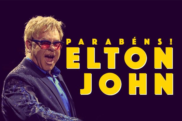 Parabéns, Elton John Background