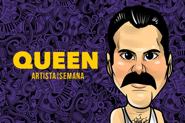 Queen é o Artista da Semana Background