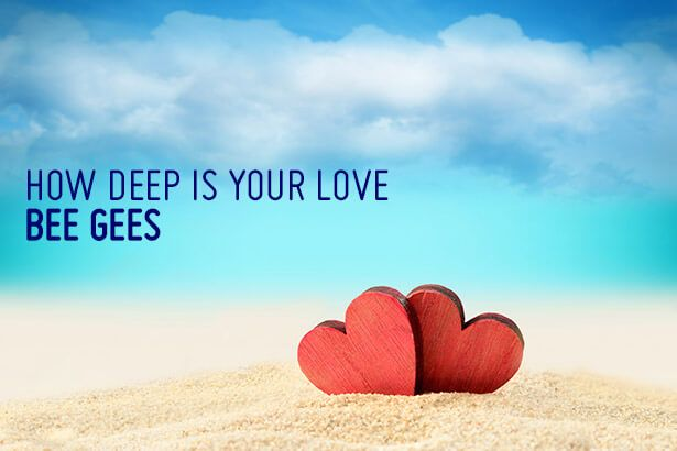 "Semana dos Namorados - ""How Deep Is Your Love"" Background"