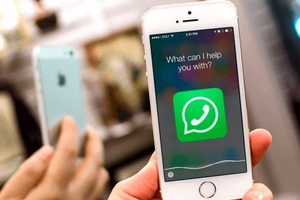 A Siri, assistente do iPhone, agora pode ler mensagens do WhatsApp Background