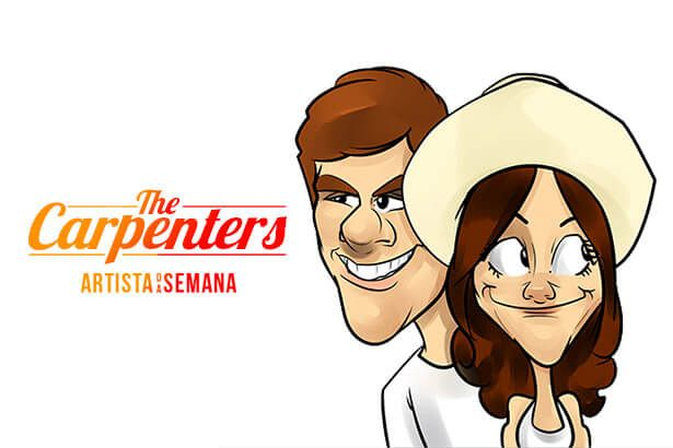 The Carpenters é o Artista da Semana Background