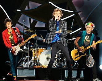 The Rolling Stones realiza show privado na Califórnia! Saiba mais Background