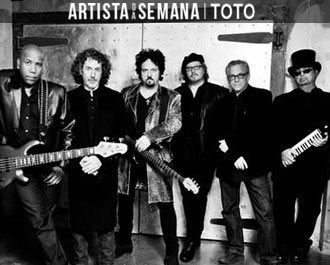 O Artista da Semana é a banda Toto! Background