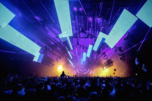 Buenos Aires bane festivais de música eletrônica Background