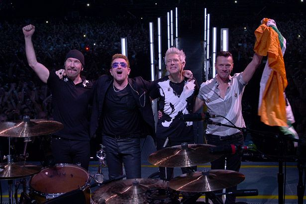 U2 lançará DVD da iNNOCENCE + Experience Tour Background