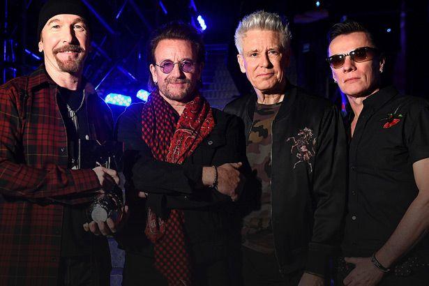 U2 apresenta canções inéditas em programa Background
