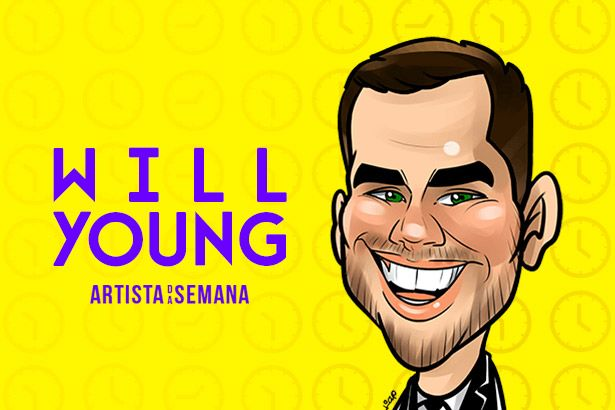 Will Young é o Artista da Semana Background