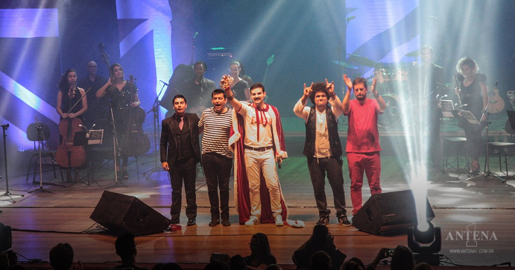 Placeholder - loading - Promoção - Quer assistir o tirbuto, Queen Experience in concert? A Antena 1 te leva!