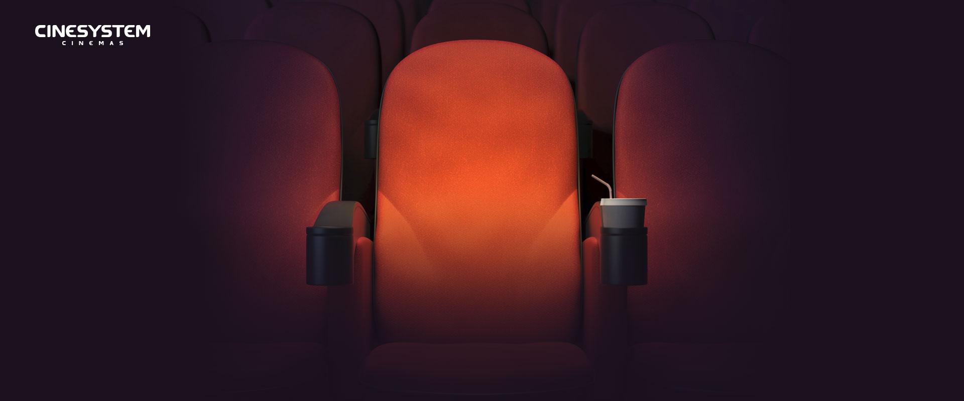Banner da promoção Concorra a ingressos - Cinesystem