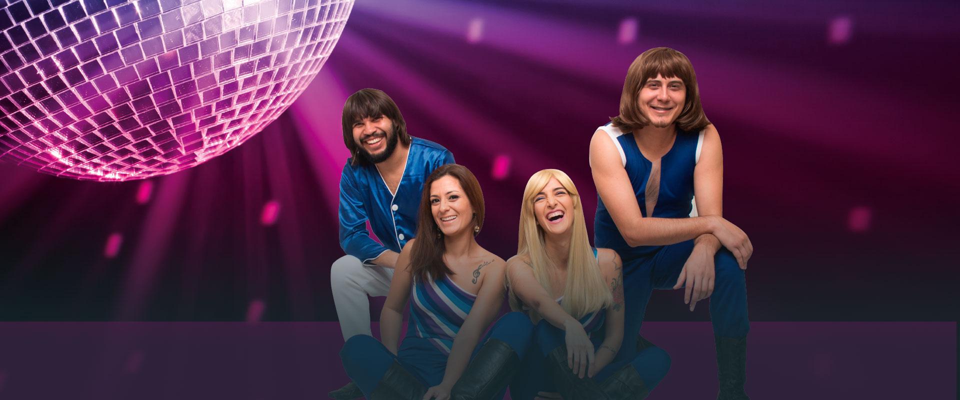 Banner da promoção ABBA The Music