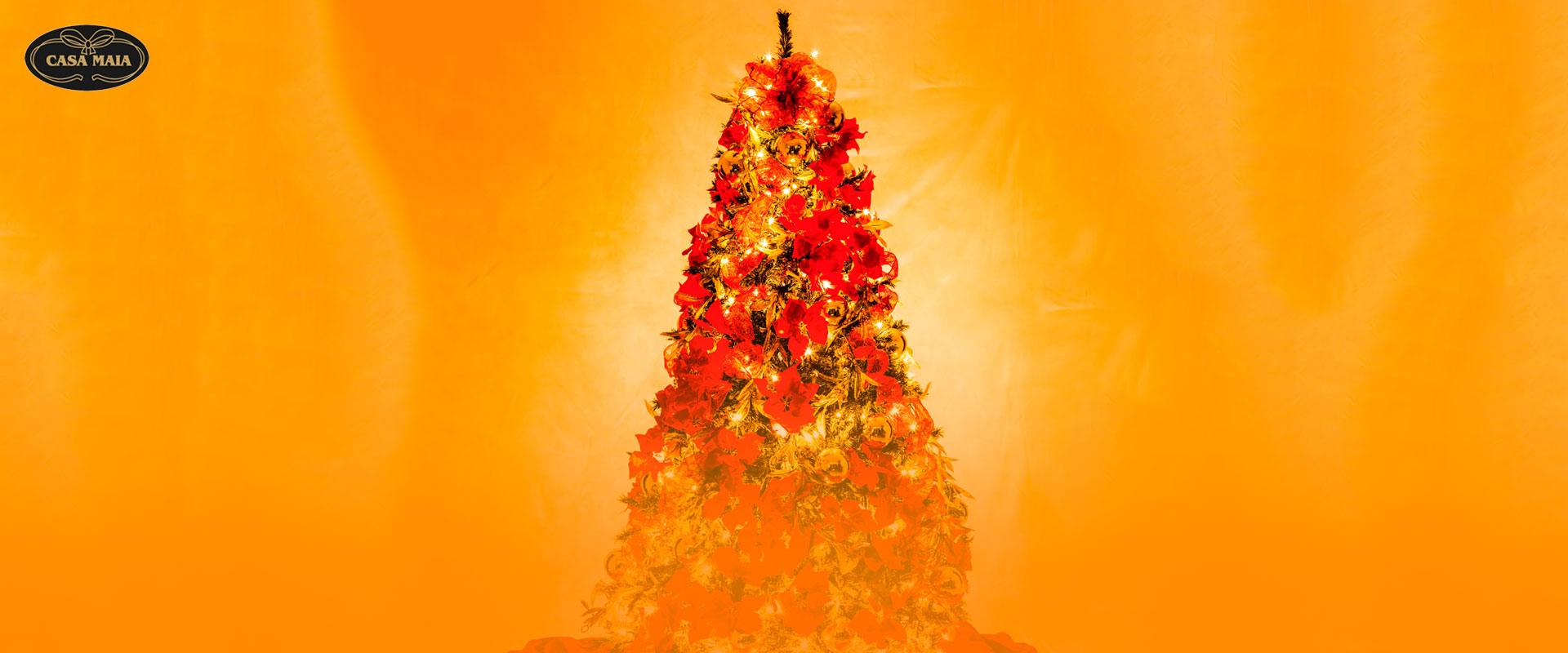 Banner da promoção Um Natal especial com a Rádio Antena 1 e a Casa Maia