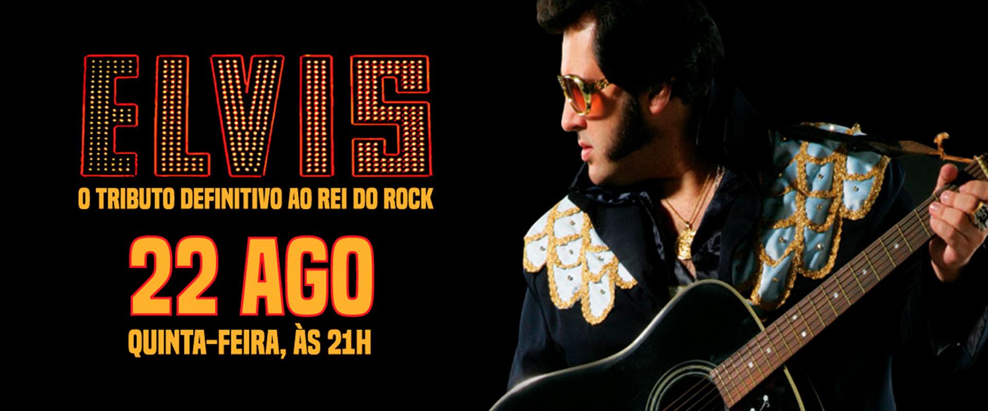"""Banner da promoção Você no show """"Elvis, O Tributo"""""""