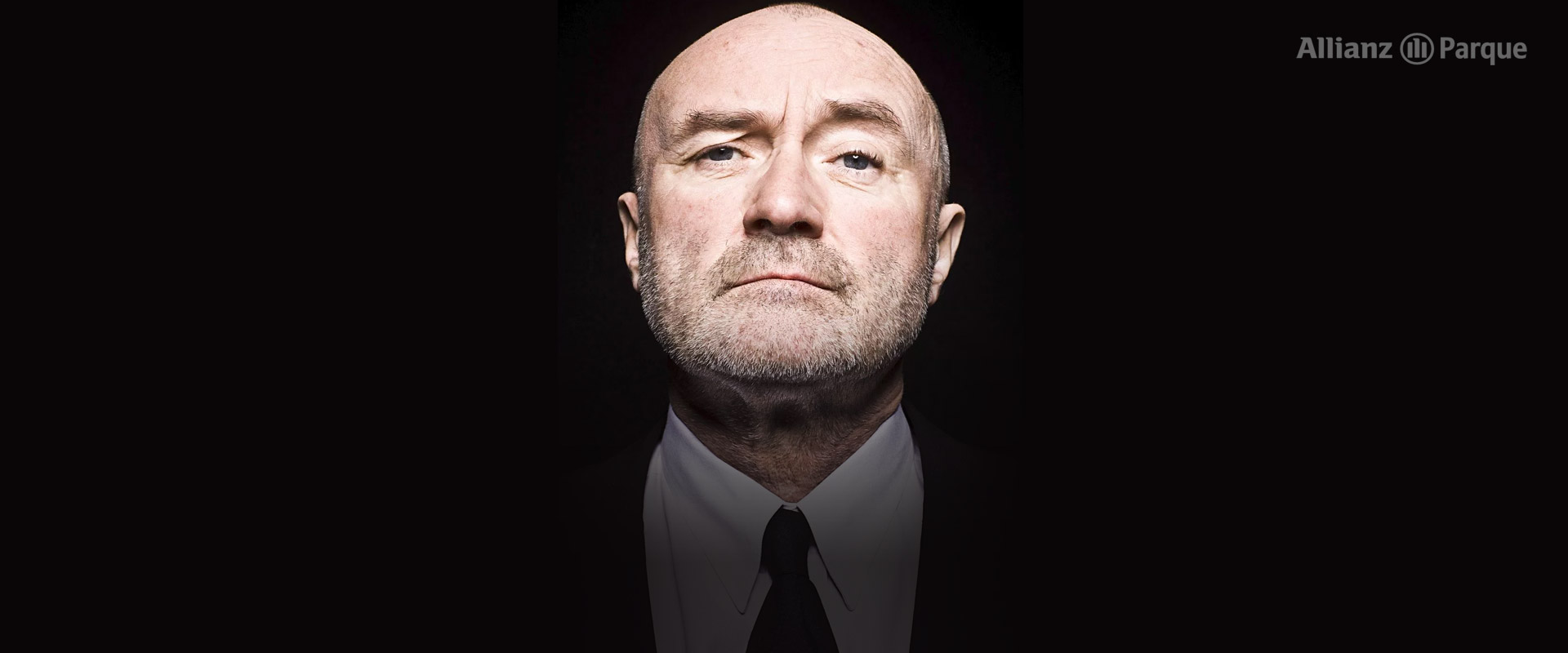 Banner da promoção Phil Collins ao vivo em São Paulo