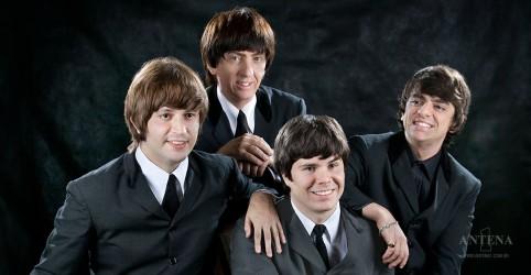 Banner da promoção Beatles Abbey Road