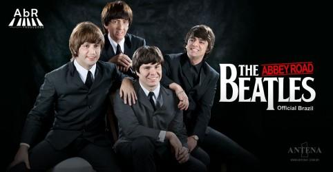 Banner da promoção Beatles Abbey Road - SP