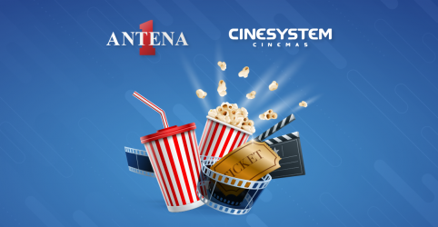 Antena 1 leva você para o Cinesystem
