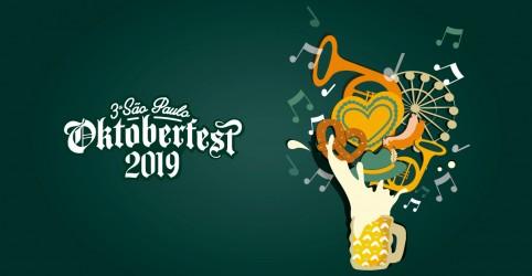 Banner da promoção A Antena 1 te leva para a 3° São Paulo Oktoberfest