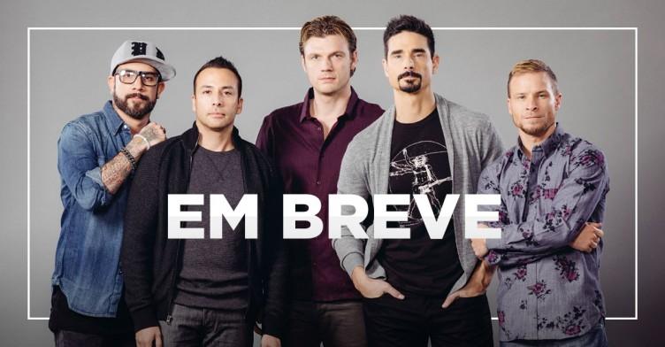 Banner da promoção Você no show do Backstreet Boys