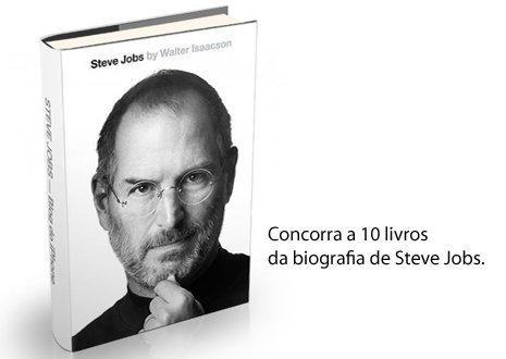 Placeholder - loading - Promoção - Concorra a Biografia de Steve Jobs