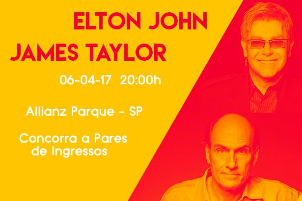 Placeholder - loading - Promoção - Elton John e James Taylor em São Paulo