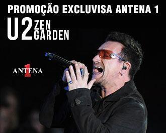 Placeholder - loading - Promoção - Promoção Antena 1 - U2 Zen Garden