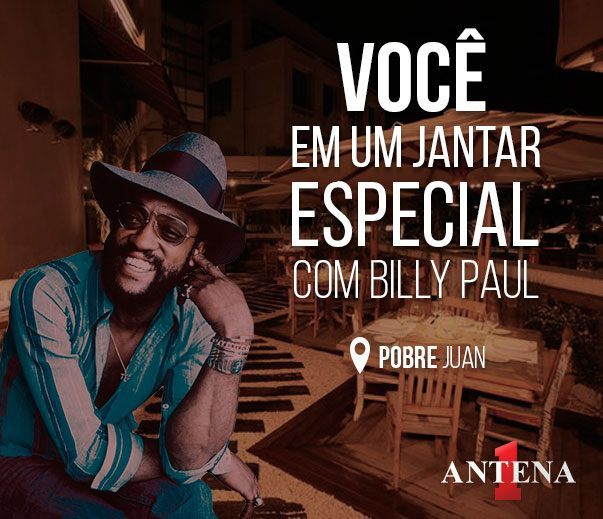 Placeholder - loading - Promoção - Concurso cultural -  Jantar com Billy Paul