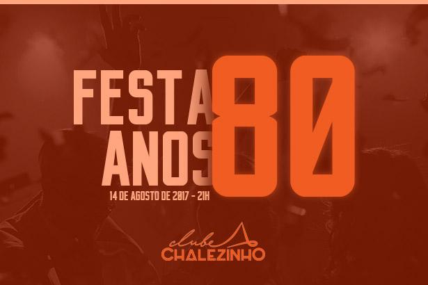 Placeholder - loading - Promoção - Festa Anos 80 do Chalezinho.
