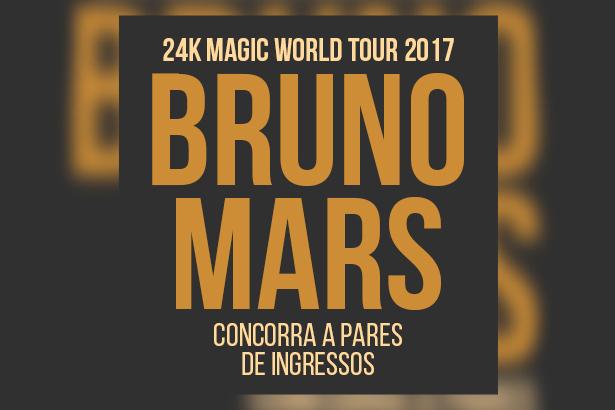 Bruno Mars em São Paulo