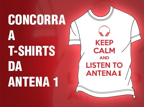 Placeholder - loading - Promoção - T-Shirts Antena 1