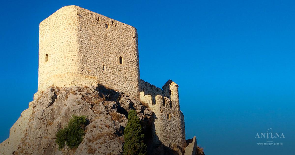 Olvera fica em Cadiz, na Espanha