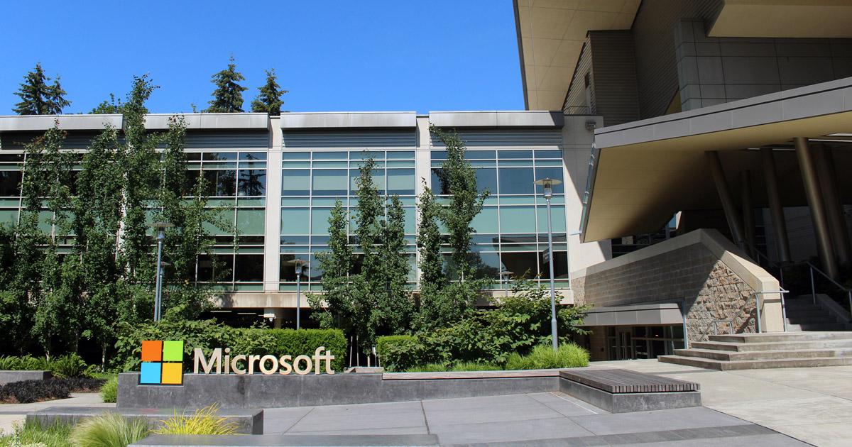 A sede da Microsoft fica em Washington, nos Estados Unidos.Crédito da imagem: Wikipedia