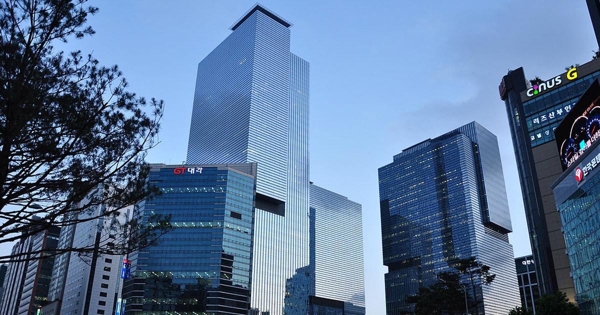 A sede da Samsung fica em Seul, na Coréia do Sul. Crédito da imagem: Wikipedia